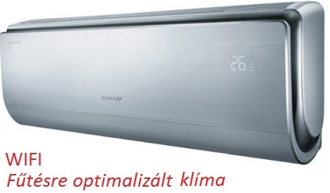 Gree GWH12UB - 3,5 kW U-CROWN inverteres split klíma